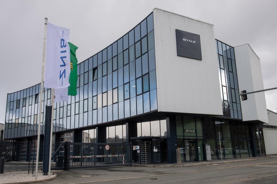 """Die Firma """"Binz"""" aus Ilmenau übernahm das MAN-Werk in Plauen."""