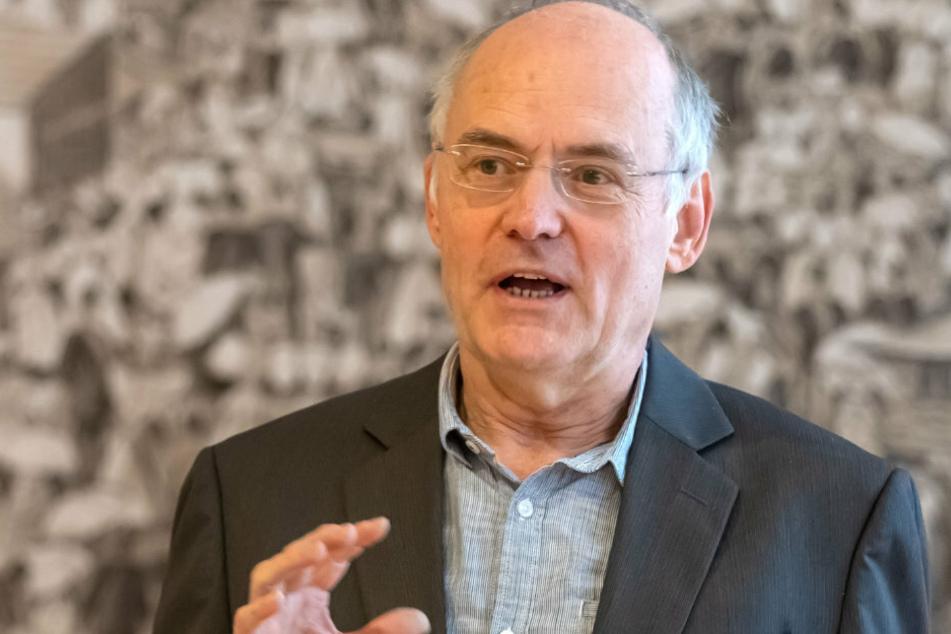 In Annaberg-Buchholz wird nächste Woche über den Weihnachtsmarkt beraten, weiß Stadtsprecher Matthias Förster (63).