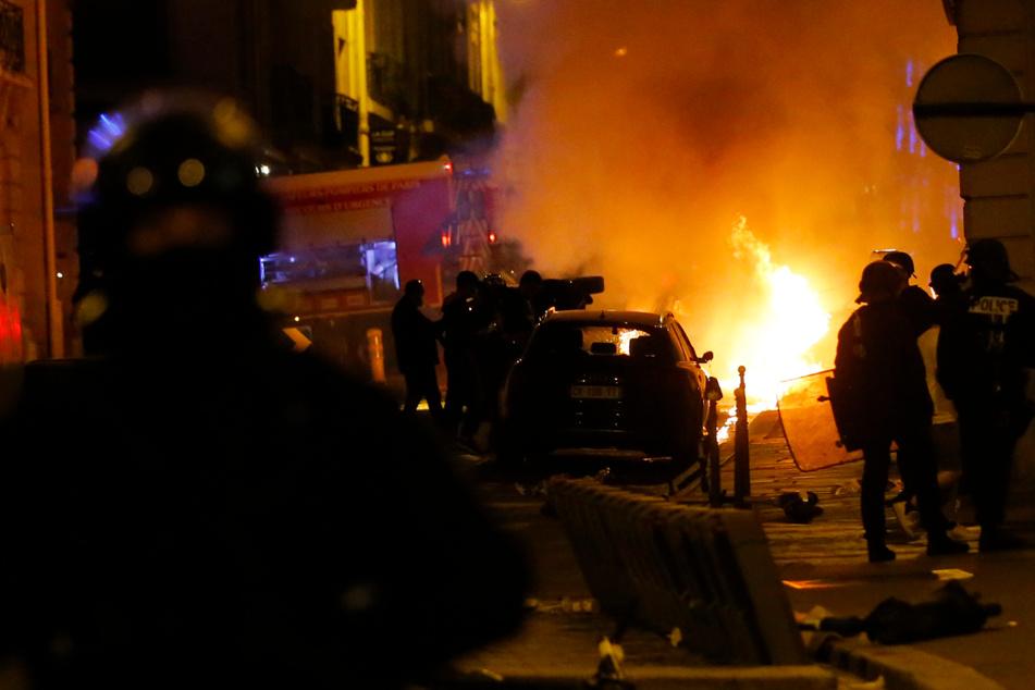 Gewalt-Exzess in Paris: Frustrierte PSG-Fans randalieren in ihrer Stadt