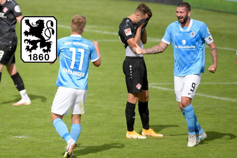 TSV 1860 München gewinnt Toto-Pokal-Krimi gegen Würzburg im Elfmeterschießen