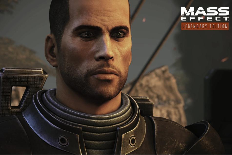 In Mass Effect spielt Ihr den Menschen-Soldaten Commander Shepard (auf dem Foto in der männlichen Variante) und müsst die Galaxis vor einer Katastrophe ungeahnten Ausmaßes beschützen.