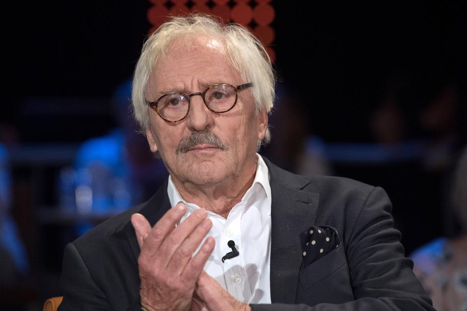 """Der Schauspieler Günther Maria Halmer (78) ist zu Gast bei der """"NDR Talk Show""""."""