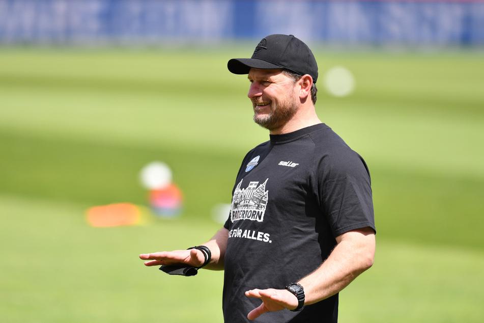 Steffen Baumgart (49) freut sich als neuer Trainer des 1. FC Köln auf die kommende Saison.