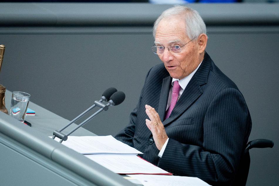 Wolfgang Schäuble (CDU), Bundestagspräsident.