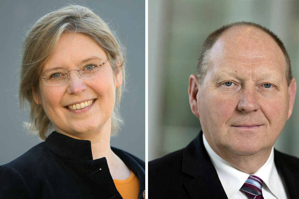 Dr. Corinna Franke-Wöller (47, CDU) und Klaus Brähmig (63, Einzelbewerber).