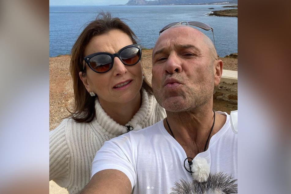 Claudia und Toni verbrachten zwei gemeinsame Urlaube.