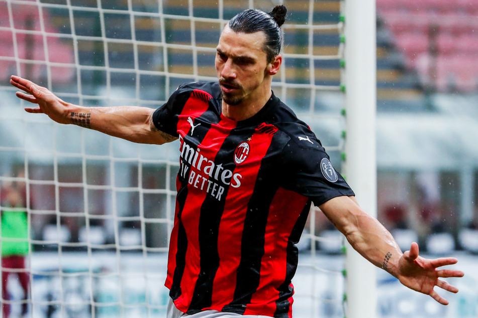 Zlatan Ibrahimovic (39) kommt aus dem Jubeln gar nicht mehr heraus! Für den AC Mailand erzielte er in dieser Saison 16 Tore in 17 Einsätzen und gab zudem noch zwei Assists - klasse!