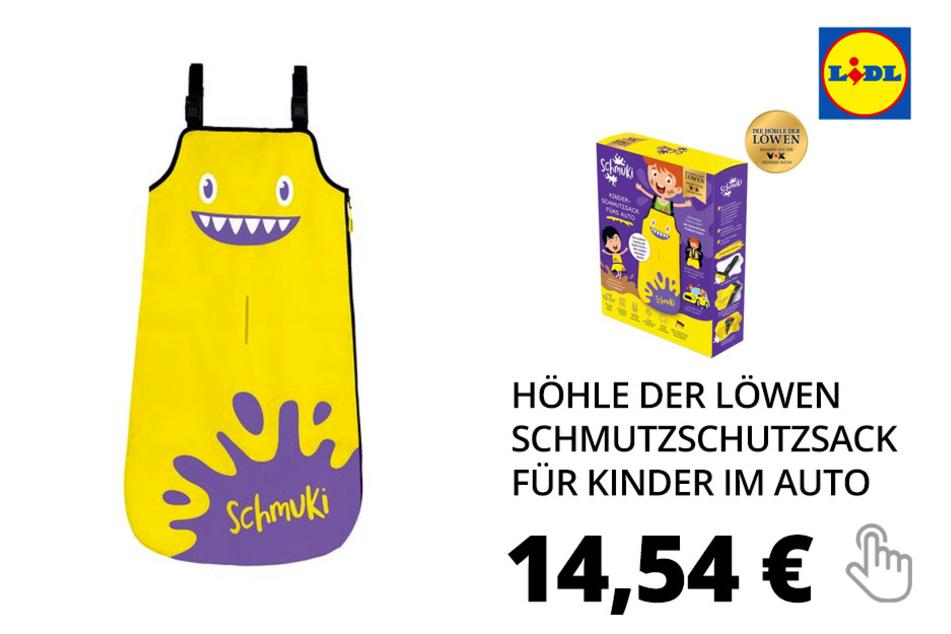 Nur online: Höhle der Löwen Schmuki Schmutzschutzsack für Kinder