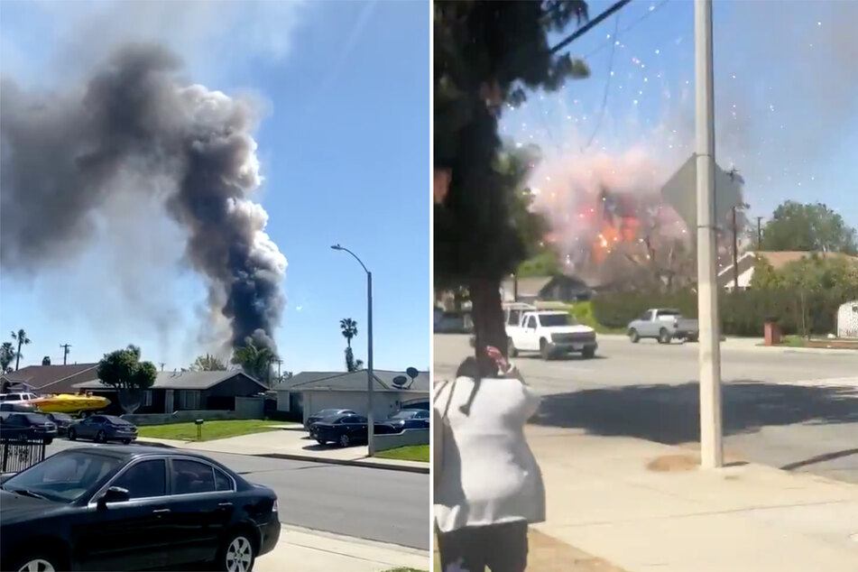 Fireworks explosion rocks California neighborhood, leaving two dead