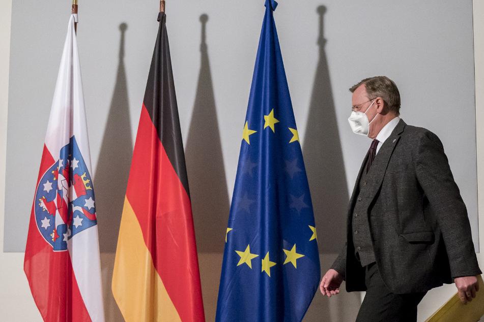 Thüringens Ministerpräsident Bodo Ramelow (64, Linke) ließ sich vorsorglich testen.