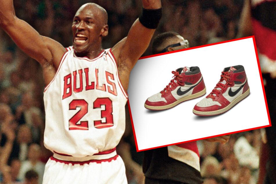 Irre Summe und Weltrekord! Michael Jordans Schuhe wurden versteigert