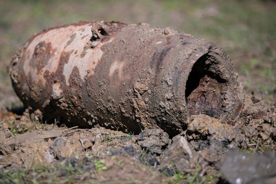 In der Nacht zum Montag wurde bei Leipzig eine Fliegerbombe entdeckt.