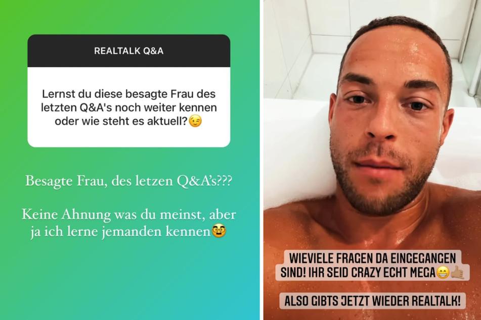 Andrej Mangold (34) beantwortet in einer Instagram-Story die Fragen seiner Fans. (Fotomontage)