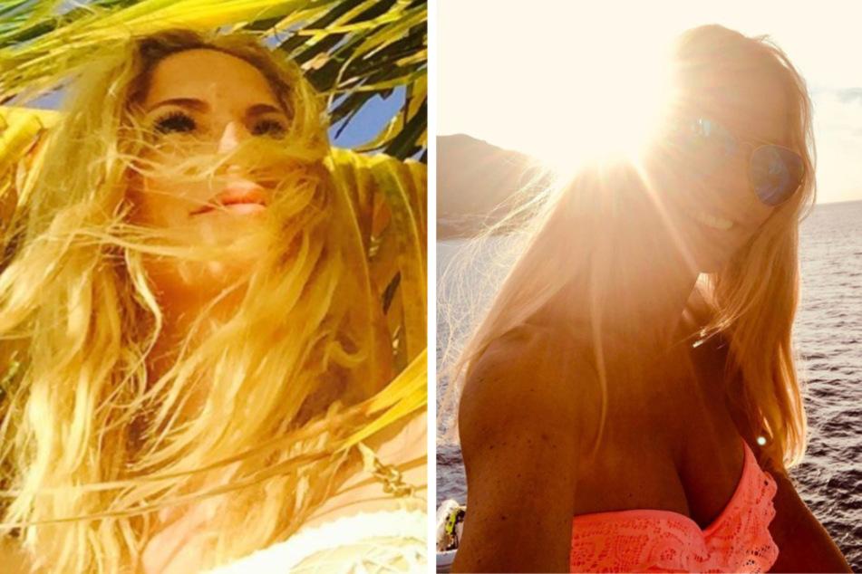 Sonya Kraus kämpft mit Reise-Fotos gegen den Corona-Koller
