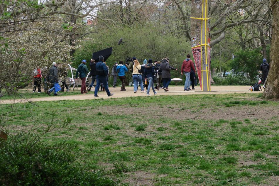 """""""Und: Action!"""" Seit Donnerstag finden Dreharbeiten in Leipzig Kant-Park statt. TAG24 hat sich für Euch schlau gemacht, was da produziert wird."""