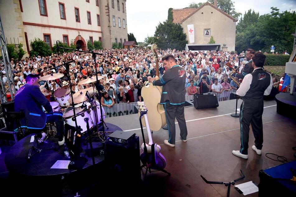 Die Firebirds laden wieder zum Sommerfestival auf Schloss Trebsen ein.