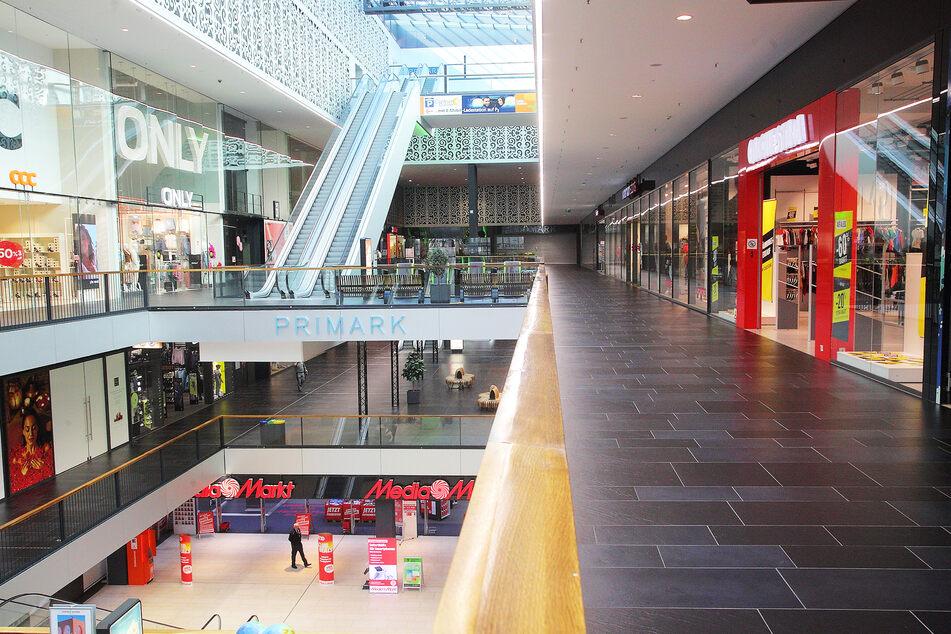 Die Centrum Galerie schien bereits am Tag vor dem Shutdown wie ausgestorben zu sein.