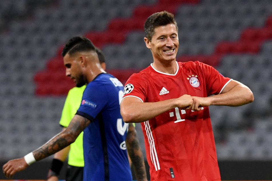 Robert Lewandowski (31) vom FC Bayern München ballert nach kurzer Pause schon wieder in Topform.