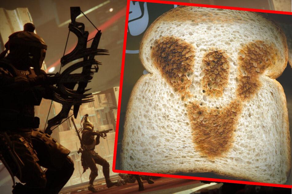 """Wer wollte nicht schon immer mal eine Toastscheibe mit dem offiziellen """"Destiny""""-Logo darauf zum Frühstück genießen?"""
