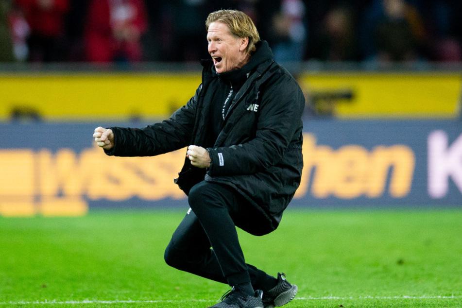 Brachte den 1. FC Köln wieder auf Kurs: Trainer Markus Gisdol (50).