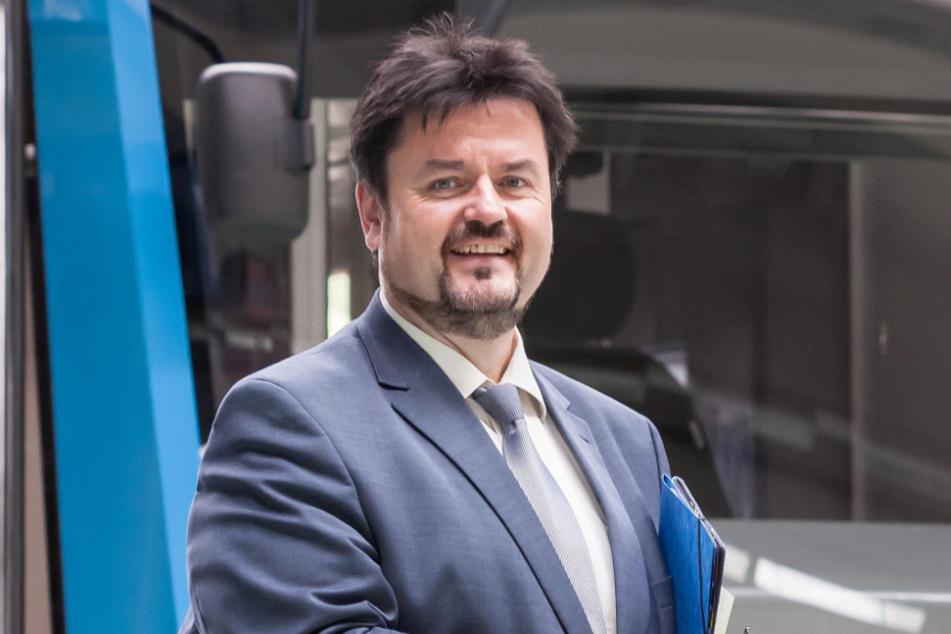 CVAG-Chef Jens Meiwald (57) freut sich über die Unterstützung durch das Klinikum.