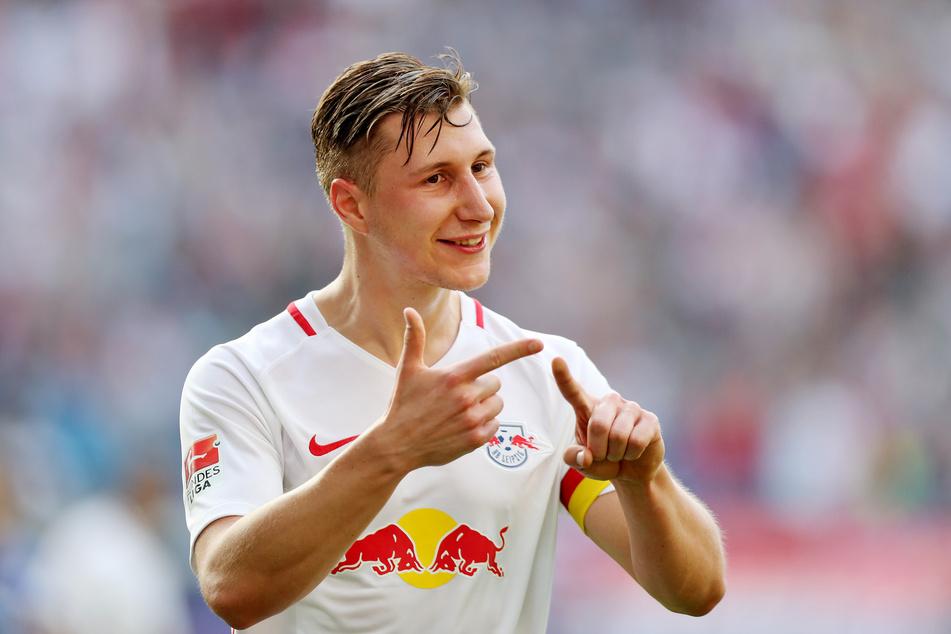 Der Leipziger Willi Orban (27) ist nach monatelanger Pause zurück im Training.