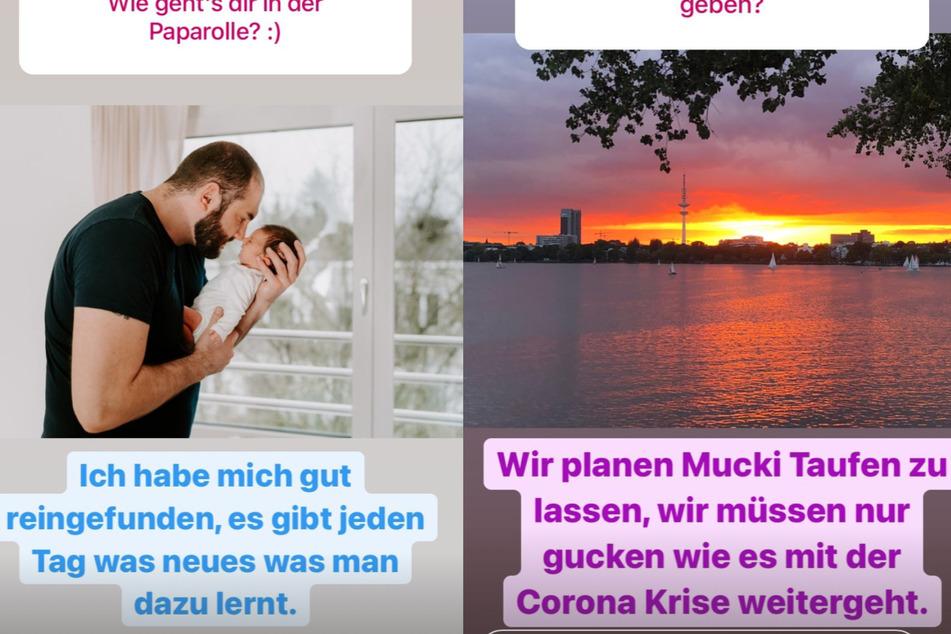 Philipp (33) beantwortet Fragen auf Instagram.
