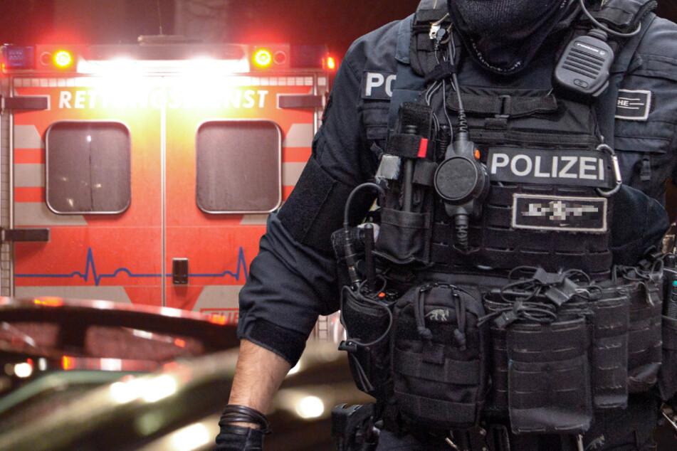 SEK-Einsatz in Kassel: Rettungskräfte mit Schusswaffe bedroht