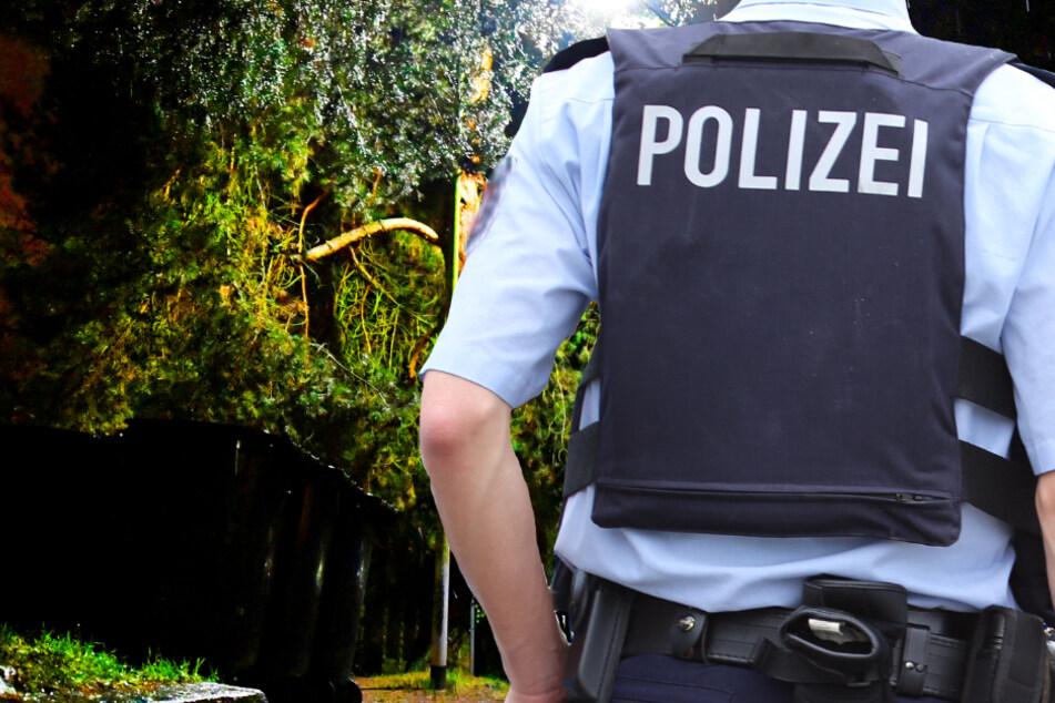 Eine erste Fahndung der Polizei am Mittwochabend war erfolglos (Symbolbild).