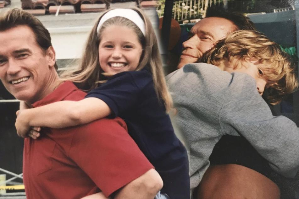 Einfach süß! So gratulierten die Kinder Arnold Schwarzeneggers ihrem Vater zum 73. Geburtstag