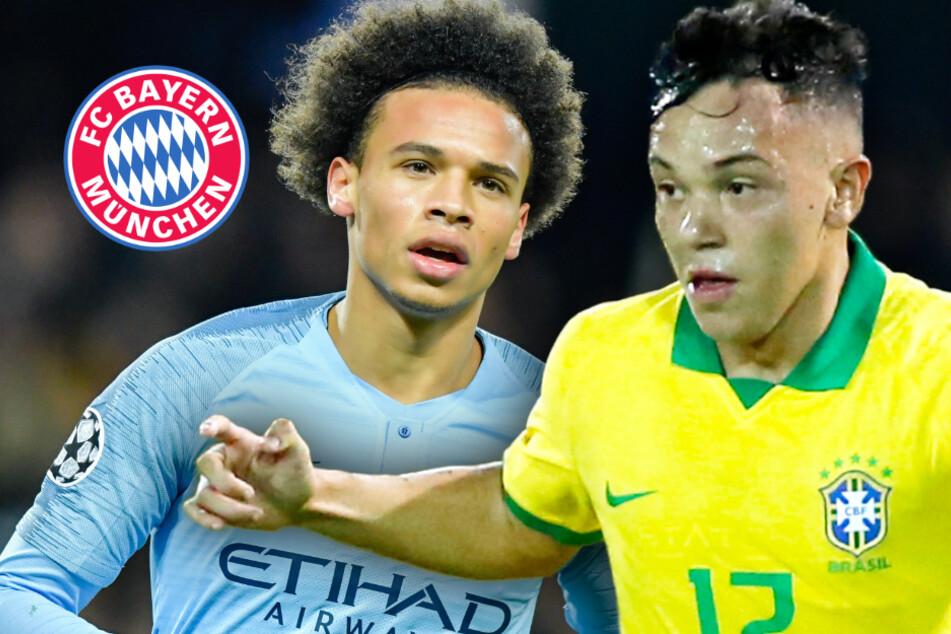 FC Bayern: Junger Brasilianer als echte Alternative zu Leroy Sané?