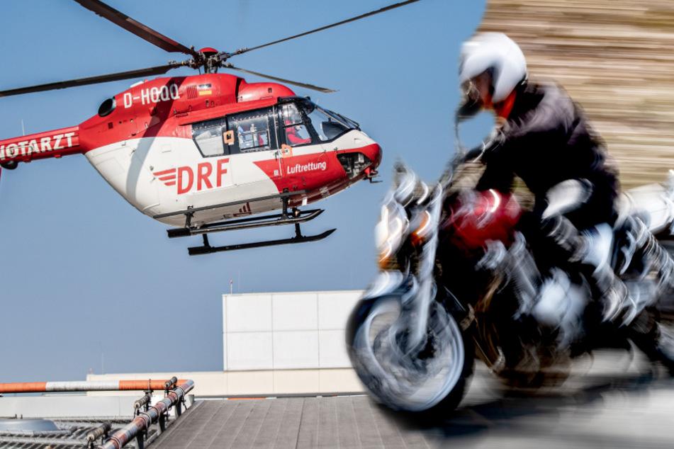 Motorradfahrerin stirbt nach tragischem Unglück direkt vor ihrem Haus