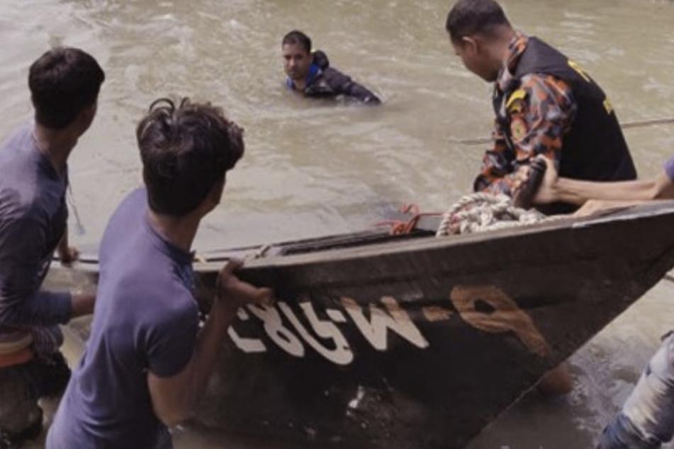 Sieben Tote bei Bootsunglück nach Hochzeit, Braut vermisst