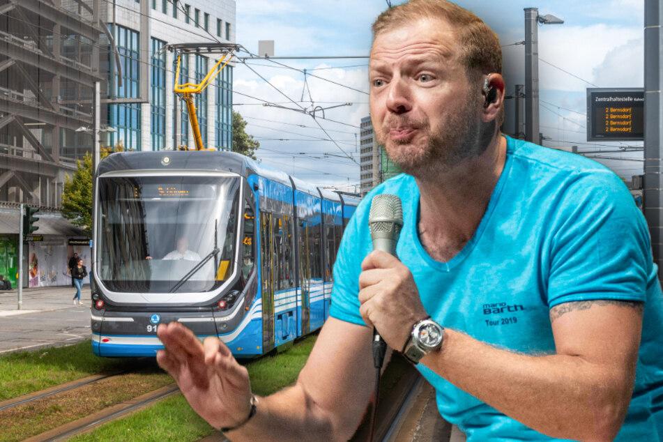 Chemnitz: Schwarzfahr-Wirbel um Mario Barths Messe-Show