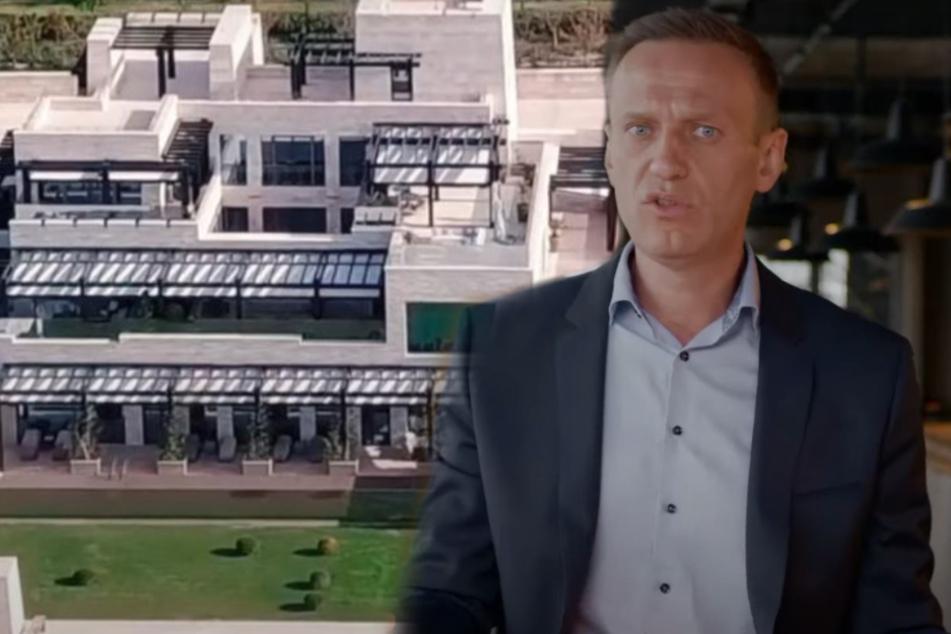"""39 mal so groß wie Monaco: Nawalnys Team veröffentlicht Doku über Putins """"Geheimpalast""""!"""