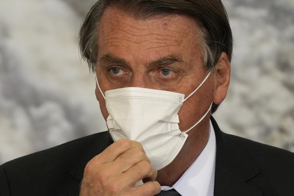 Jair Bolsonaro (66), Präsident von Brasilien, ist derzeit im Krankenhaus.