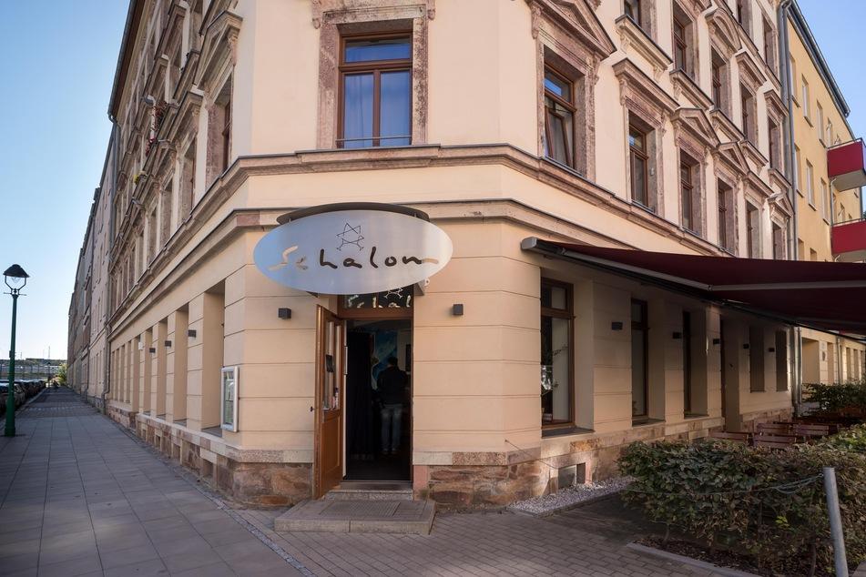 """Das jüdische Restaurant """"Schalom"""" in Chemnitz wurde im August 2018 von mutmaßlich Rechtsextremen angegriffen."""