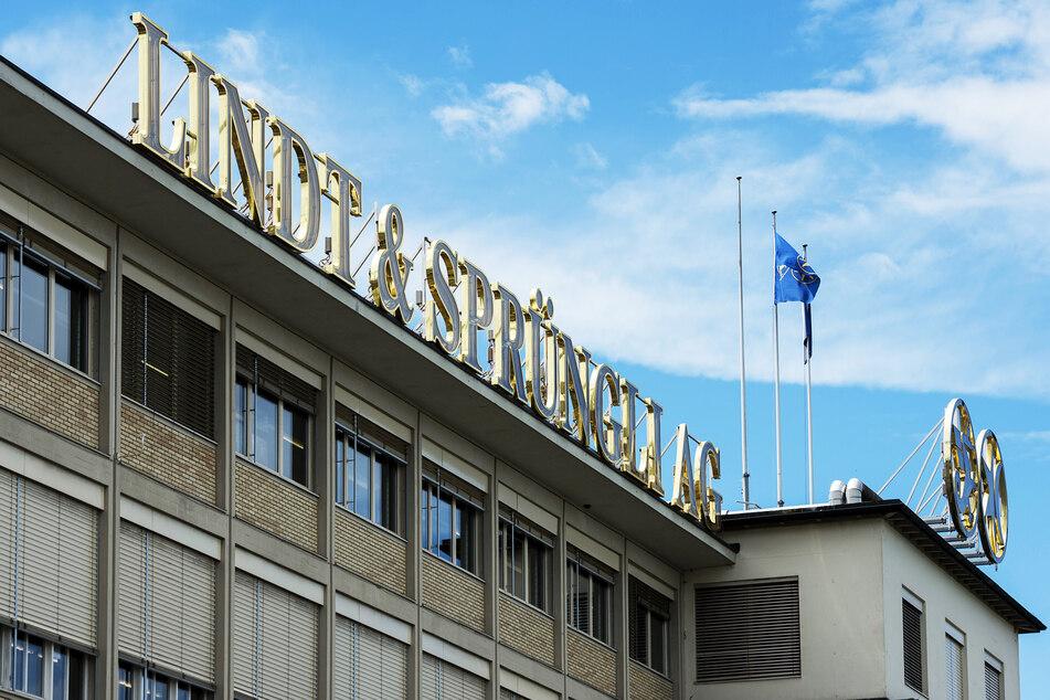 Blick auf den Sitz des Schokoladenkonzerns Lindt & Sprüngli.