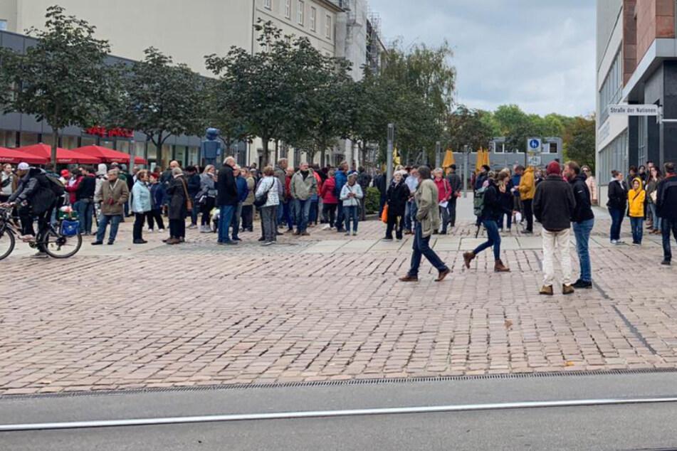 Chemnitz: 200 Teilnehmer bei Corona-Protest dabei