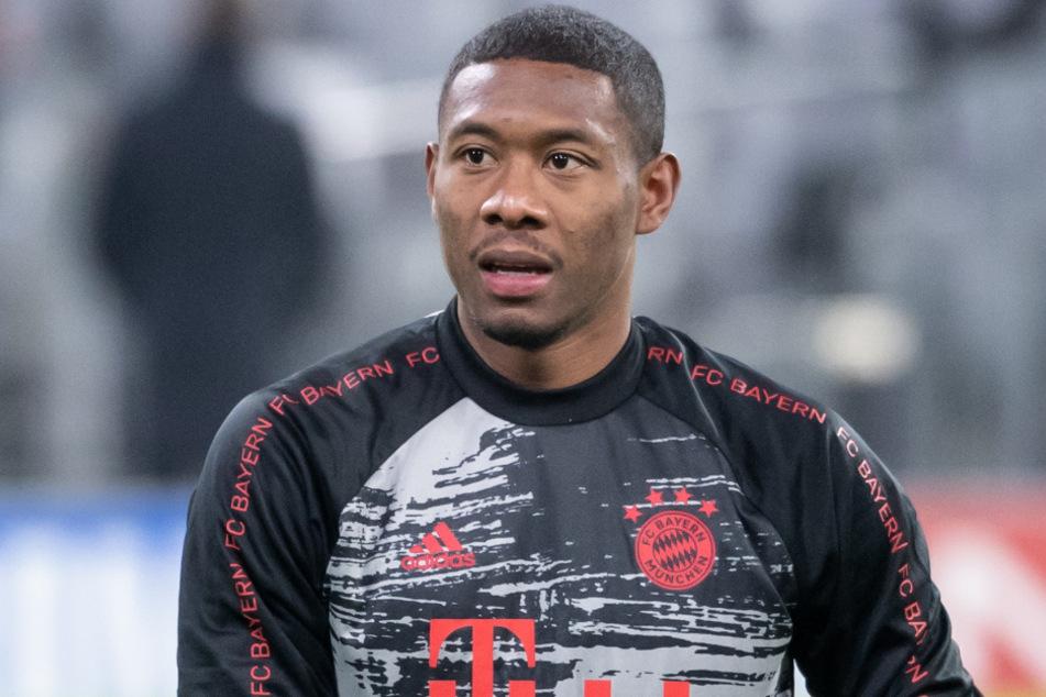 David Alaba (28) macht sich trotz der Schwächephase offenbar keine Sorgen um die Titelverteidigung des FC Bayern München in der Bundesliga.