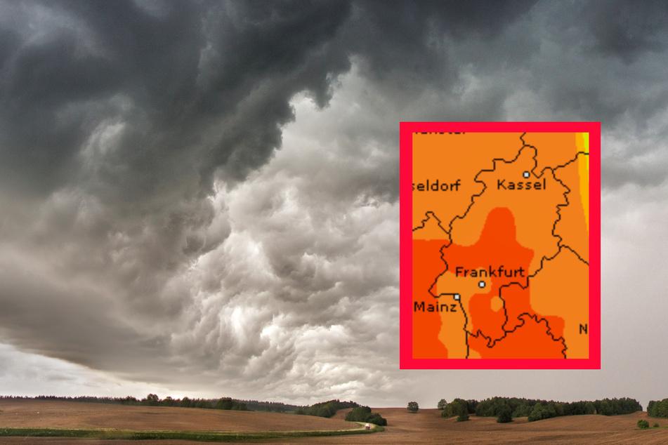 Erneut Gewitter- und Starkregen-Gefahr in Frankfurt und Hessen