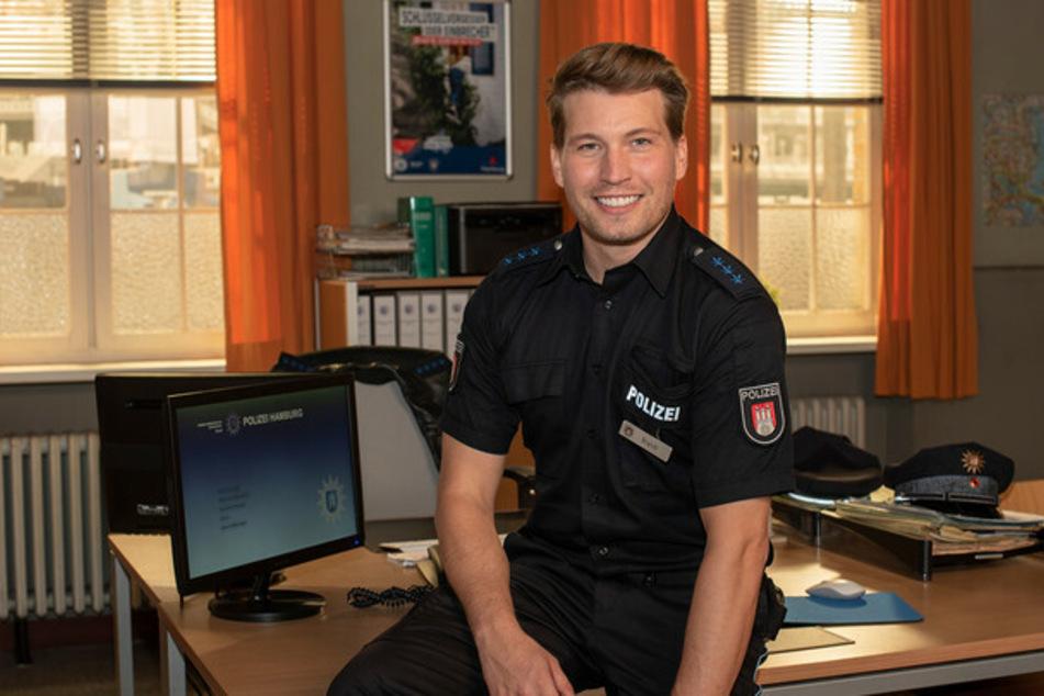Als Polizeiobermeister Nick Brandt ist der Schauspieler Raúl Richter bald Teil des PK21.