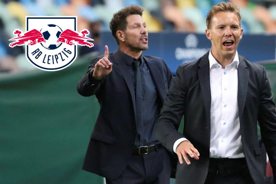 RB Leipzig sensationell unter den besten Vier Europas: Disput zwischen Nagelsmann und Simeone