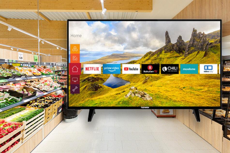 Verrückt, wie billig Lidl diesen Fernseher ab Donnerstag (6.8.) verkauft