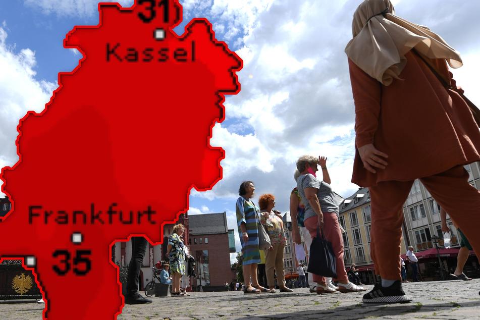 Hitze-Keule schwingt weiter über Hessen: Doch Achtung, es lauern Gewitter!