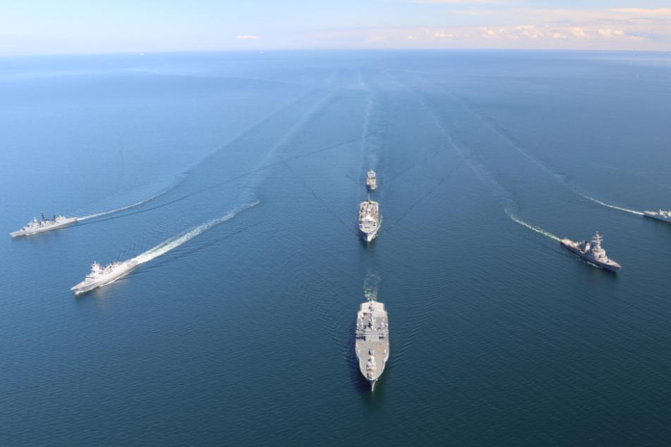 Nato-Manöver mit 3000 Soldaten in der Ostsee gestartet