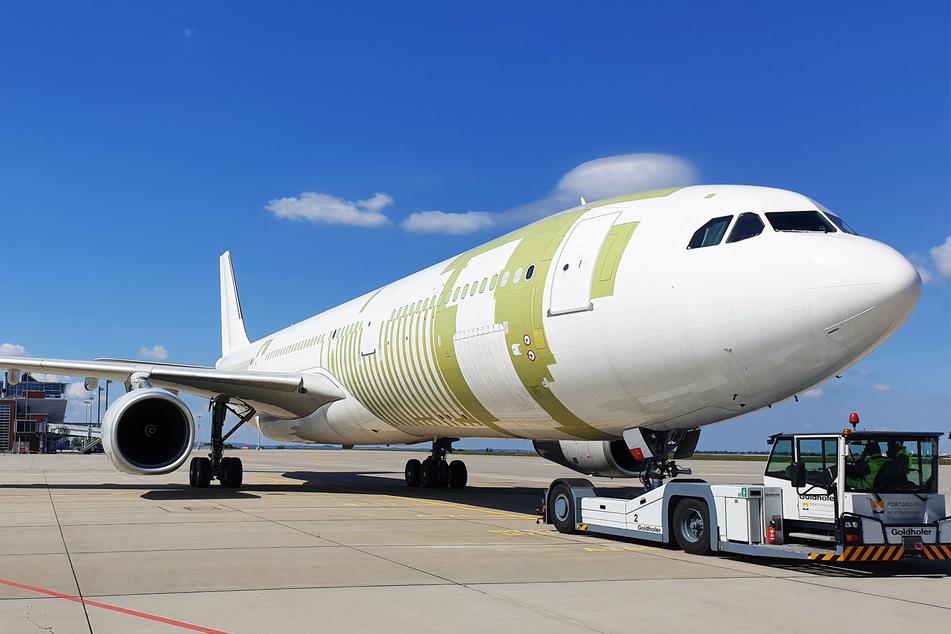 Der Airbus A330 wird am morgigen Donnerstag ausgeliefert.