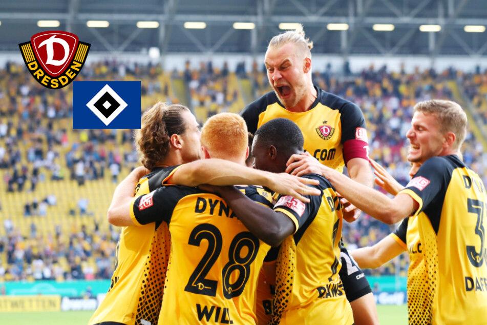 Pure Emotionen! Dynamo haut den HSV klar vor begeisterten Fans aus dem Pokal!