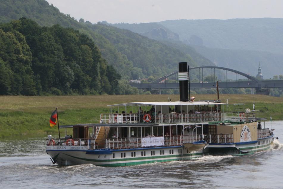 """Weiße Flotte streicht Haltepunkt Prossen: """"Wo bleibt unser Anleger?"""""""