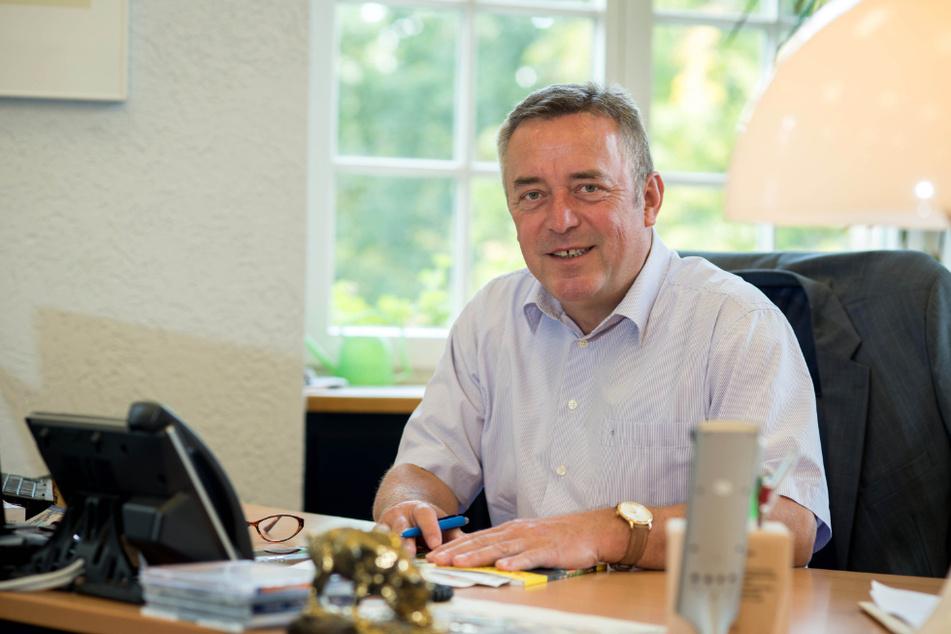 Plauens Oberbürgermeister Ralf Oberdorfer (60, FDP) tritt im Sommer nach 21 Jahren ab.